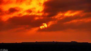Nullarbor roadhouse sunset