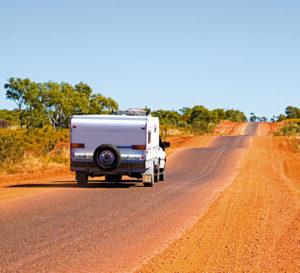 nullarbor roadhouse caravan