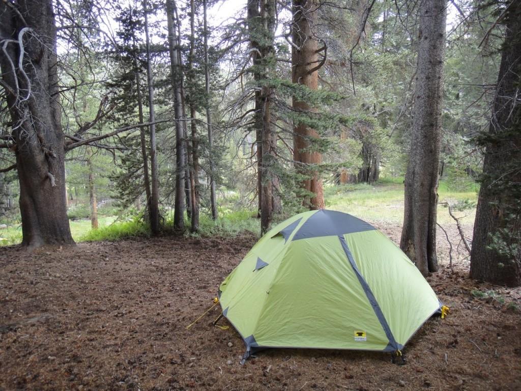 tent flat ground