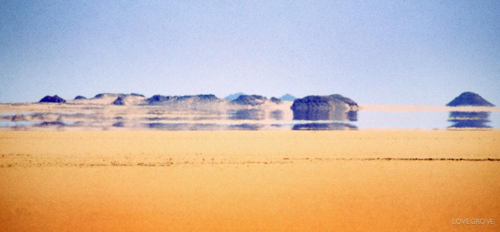 The Beautiful Desert Mirage of the Nullarbor - Nullarbor