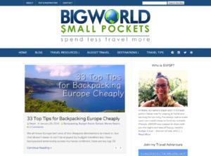 Big World Small Pockets Homepage