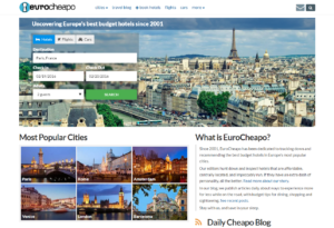 EuroCheapo Homepage