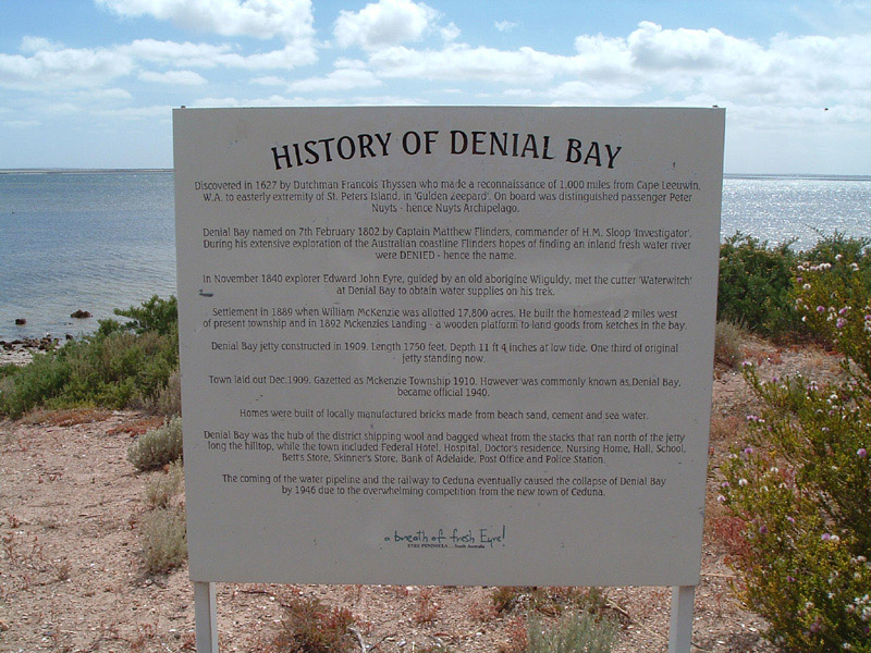 Tourist Attraction: Denial Bay
