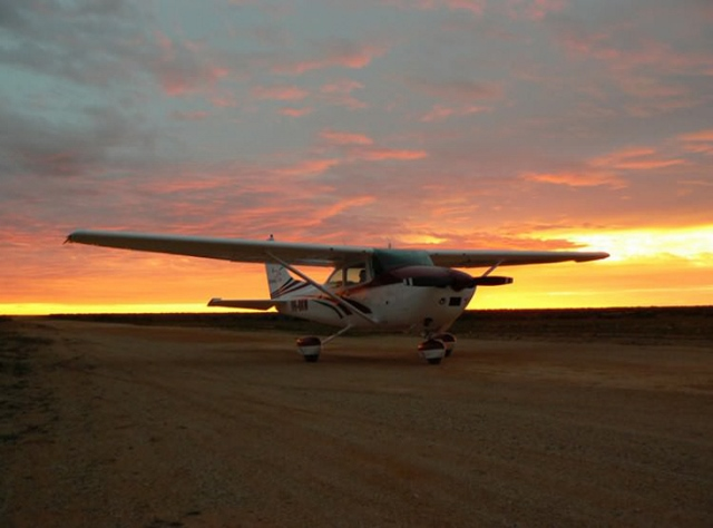 Flight over the Bight: A Bird's Eye View of the Nullarbor Plain